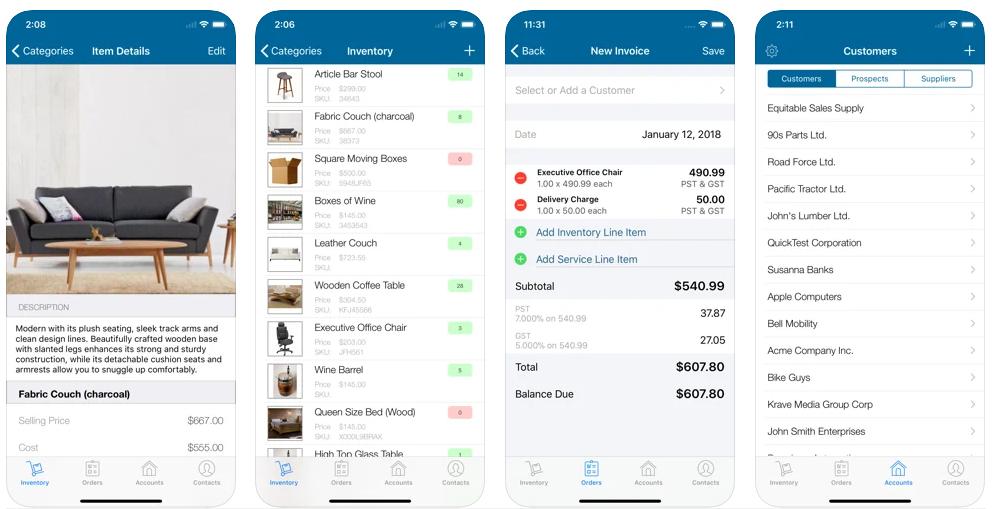 SalesBinder Inventory App