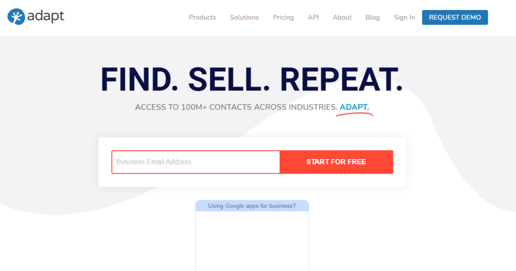 Adapt Email Finders Tool