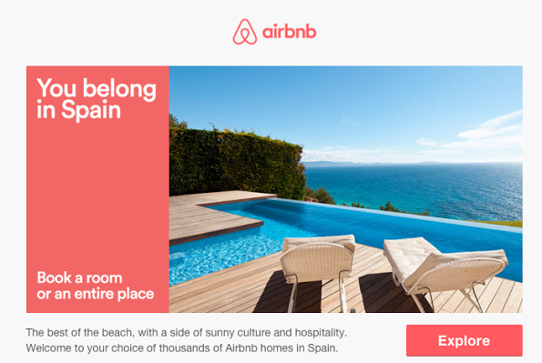 Airbnb email