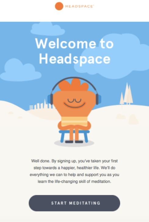 Headspace email