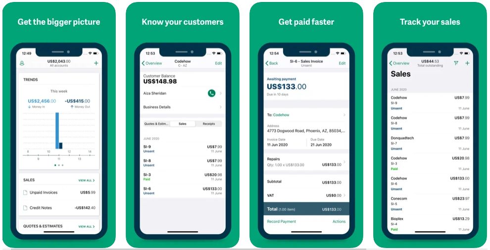 Sage Best Accounting App