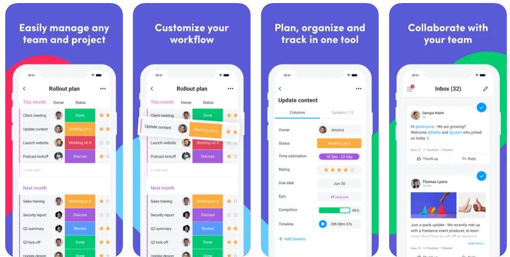monday.com best Project Management App
