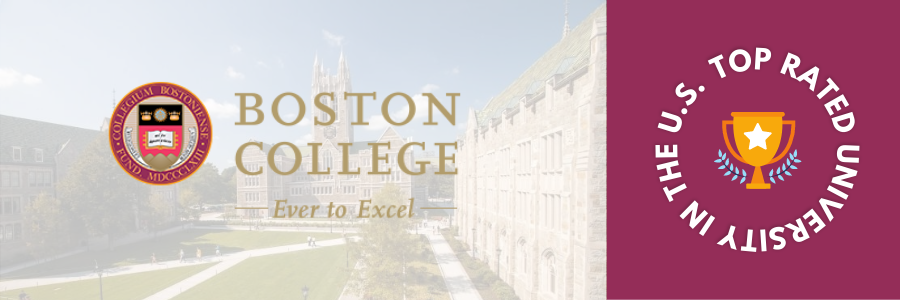 Top Rated University of USA - Boston College
