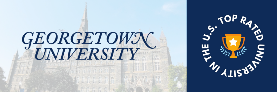 Top Rated University of USA - Georgetown University