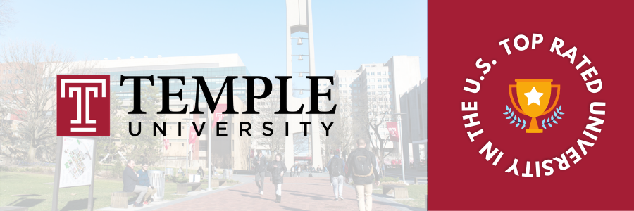 Top Rated University of USA - Temple University