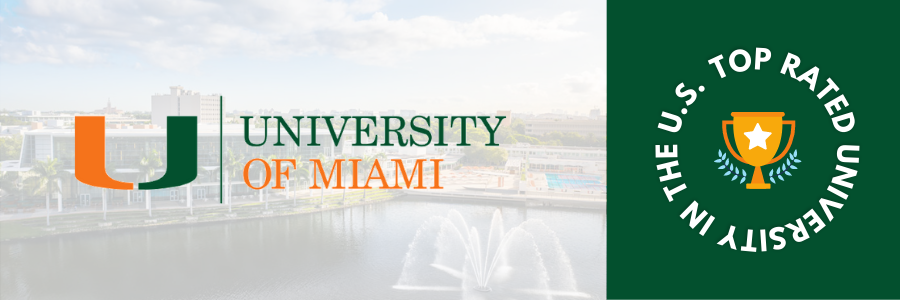 Top Rated University of USA - University of Miami