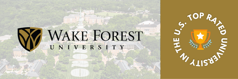 Top Rated University of USA - Wake Forest University
