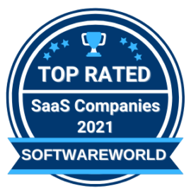 Top SaaS Companies Badge