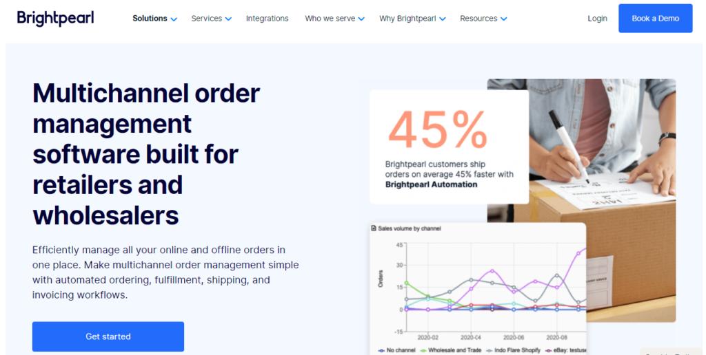 Brightpearl Order Management Software
