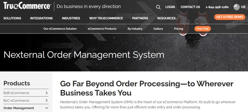 TrueCommerce Nexternal Order Management Software