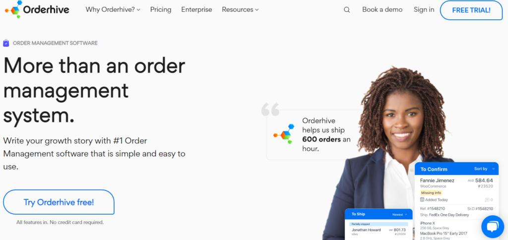 Orderhive Order Management Software