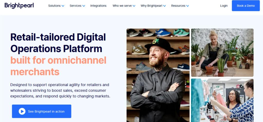 Brightpearl best Retail Management Software