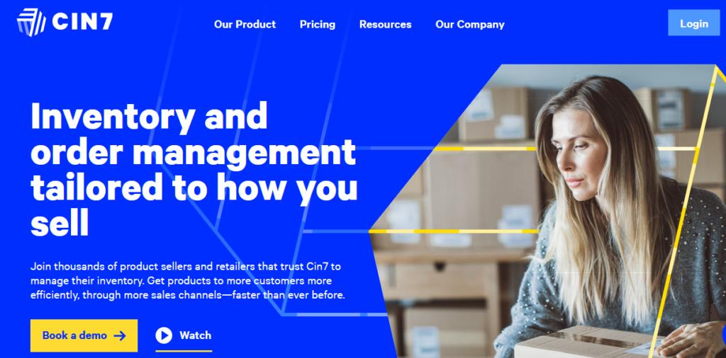 CIN7 best Retail Management Software