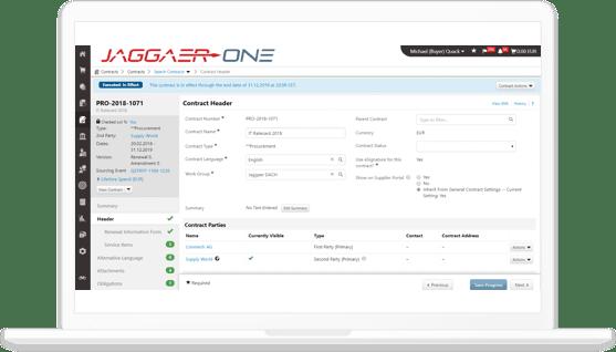 JAGGAER SCM Software