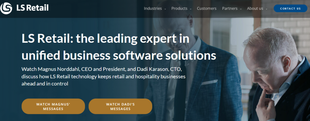 LS Retail best Retail Management Software
