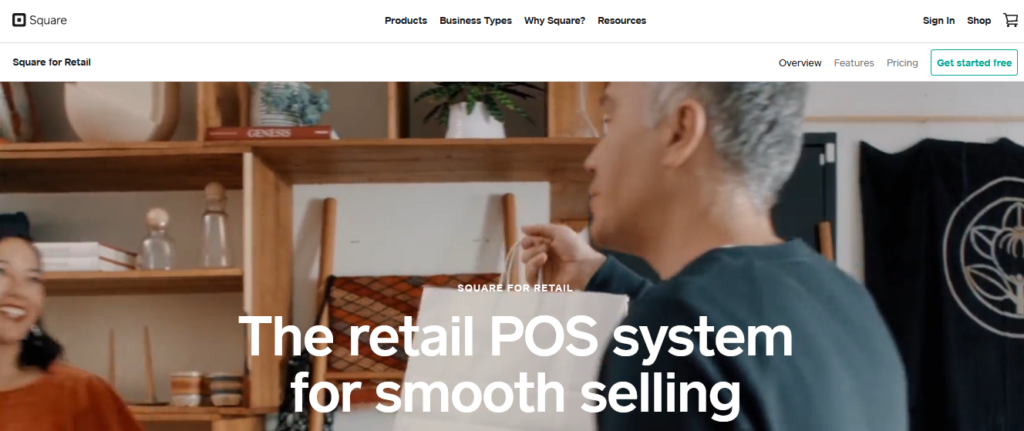 Square for Retail best Retail Management Software