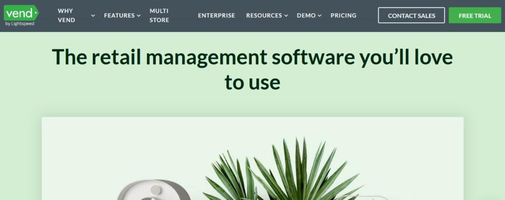 Vend best Retail Management Software