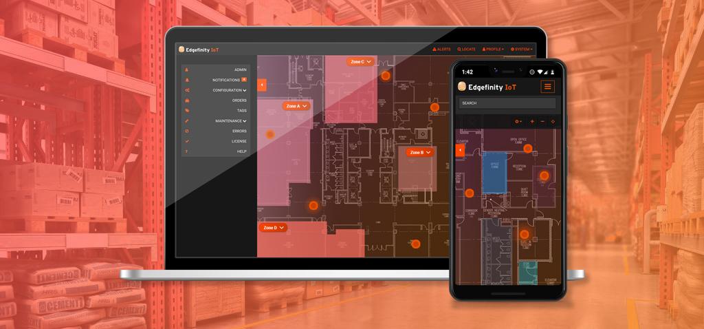Edgefinity IoT inventory software
