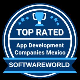 Top app development companies Mexico